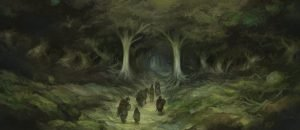 The Hobbit - Lost In Mirkwood Forest